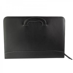 Porta-Documentos Hombre Titto Bluni color negro en Piel